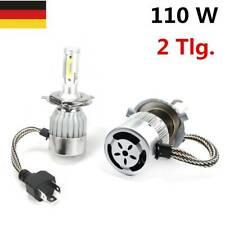 2x H4 110W 30000LM 6000K LED Scheinwerfer Leuchten Xenon Birne Weiß DRL Lampe