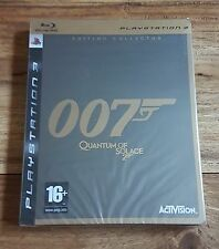 007 QUANTUM OF SOLACE Édition Collector Jeu Sony PS3 Playstation 3 Neuf Blister