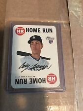 2017 HERITAGE HIGH NUMBER CODY BELLINGER 1968 HOME RUN GAME CARD