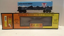RAIL KING TRAIN 30-7816 0/027 GAUGE PEPPER PACKING REEFER CAR