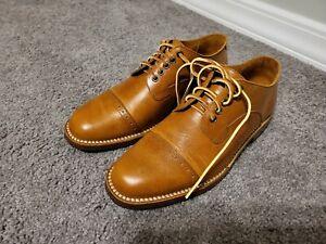 Junkard Brogue Cap Toe Bluchers 41D (8D) Brown Tan