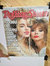 """Madonna 20""""x16"""" Poster Rolling Stone Cover 1985"""