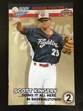 Reading Fightin Phils SGA Program #2 Featuring Phillies Prospect Scott Kingery