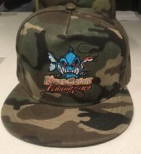 New Killer Crank Camo Fishing Snapback Hat Cap