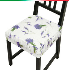 CUSCINO vesti sedia SFODERABILE cucina sala giardino copri sedie cotone spugna