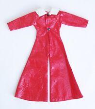 60s / 70s Barbie Hosenanzug - Schlaghosen - rot / weiss Overall Flower power