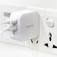 Dual Port USB Travel Wall Charger Foldable AC Plug for iPhone,Samsung, iPad,PSP,