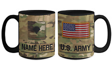 US Army Personalized Mug - Specialist (E4) US Army Gift for Dad/Mom/Son/Daughter