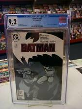 BATMAN #407 (DC Comics, 1987) CGC Graded 9.2! ~ YEAR ONE ~ White Pages