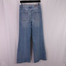 Pilco Palazzo Jeans Size 28 High Rise Wide Leg Anthropologie