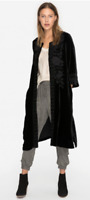 JOHNNY WAS Magdalene Embroidered Velvet Midi Coat SOLD OUT $589 S Perfect!