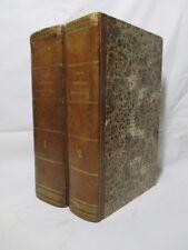 Balbi Adriano - Compendio di Geografia ( 2 volumi ) - Pomba 1840 Ediz. ampliata