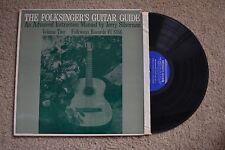 Folksinger's Guitar Guide Manuel Jerry Silverman w/ 3 books Vol.2 Record LP VG+