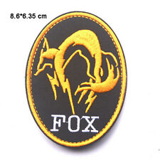 MGS Metal Gear Solid Special Forces Fox Hound Diamond Dogs Hook Loop Patch Badge