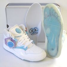 "New Reebok Pump Omni Snowman White/Carolina Blue/Steel ""YETI"" sz 8 Retro RARE"