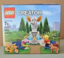 "LEGO Creator 40221 ""Fountain"" Park Bicycle Dog 2016 Promo Set Age 7+ 105 PC. NEW"