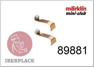 Märklin 89881 Mini-Club Scale Z 1:220 Pair Brushes Balays Bürstenpaar Brushes