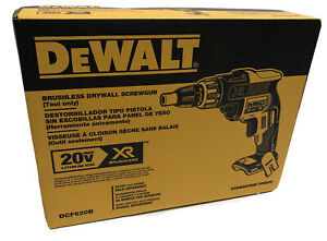 BRAND NEW DEWALT DCF620B 20V Volt MAX XR Brushless Drywall Screwgun Screwdriver