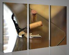 Quadri moderni su tela stampe WINE OPENERS arredo enoteca bar pizzeria 130 x 90