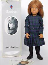 "HTF 1983 Sasha KILTIE 16"" Limited Ed Trendon_HUMAN HAIR_EXCELLENT!_Scot Tartan"