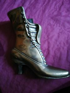Heavy Vintage Brass Boot