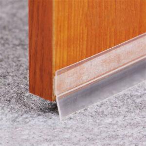 Practical Floor Stickers Transparent Windproof Silicone Sealing Strip Bar Door