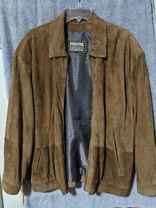 Robert Comstock  Lightweight Leather Jacket Size: 44