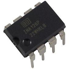 INA126P Burr Brown MicroPower Instrumentation Amplifier Amp DIP-8 856101