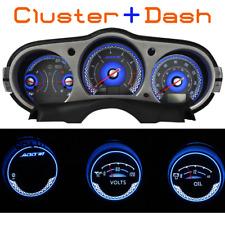 Add W1 Gauge Overlay for Nissan 350Z + Dash Gauge / white face white gauge