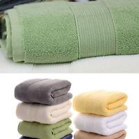 70*140 Thick Luxury Cotton Bath Towels Solid SPA Bathroom Beach Terry Bath Towel
