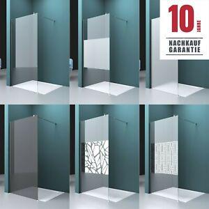 Walk In Dusche Duschabtrennung Duschtrennwand Duschwand Nano Glas Duschkabine