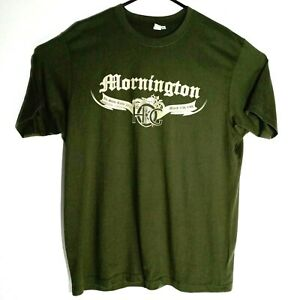 2011 Vic H.O.G Rally Harley Davidson Owners Group Olive T-Shirt XL Chest:109 cm