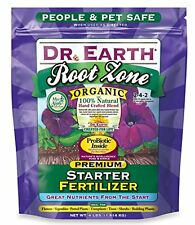 Dr. Earth 701P Organic 2 Starter & Transplant Fertilizer Poly, 4-Pound, New, Fre