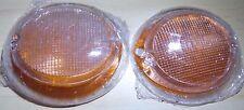 VW Bus Type 2 Turn Signal Light Lenses Lens 2pcs pair Plasti VOLKSWAGEN 63-67 T2