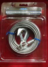 """BOAT WINCH CABLE GALVANIZED 3/16"""" X 25' SHORELINE SL52296"""
