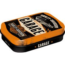 Nostalgic-art Boîte À pilules Harley-davidson Garage