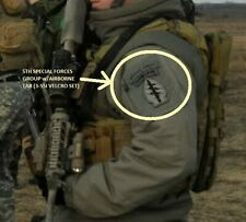 KANDAHAR-WHACKER© JSOC ARMY 5TH SPECIAL FORCES GROUP SFG OD SSI w/AIRBORNE TAB