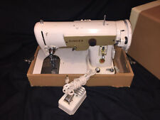 singer sewing machine RF/12-8 S.S. 618725-001 heavy duty touch tronic commercial