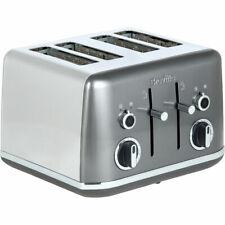 Breville VTT853 Lustra 4 Slice Toaster Storm Grey