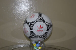 New Adidas Official Match-Ball of FIFA World Cup 1986 Leather Football Size 5.