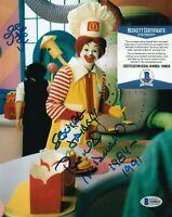 SQUIRE FRIDELL SIGNED 8X10 PHOTO RONALD MCDONALD ACTOR MCDONALDS C BECKETT COA