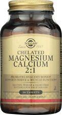Solgar Chelated Magnesium Calcium 2:1 90 Tablets**