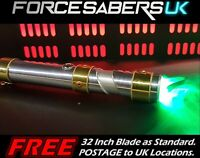 "40"" STAR WARS LIGHTSABER ULTIMATE MASTER FX LUKE LIGHT SABER - MASTER MODEL"