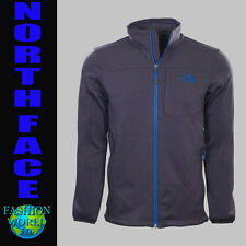 Mens Size Medium The North Face Dark Grey Active Fit 200 Cinder Full Zip Jacket