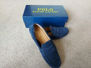 Ralph lauren Navy  Reynold driving shoes Brand New with Box size 8 ( 42 )