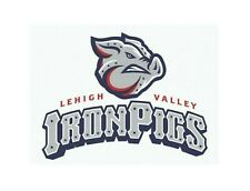 Baseball Lehigh Valley Iron Pigs Logo Sticker Vinyl Decal 3-49