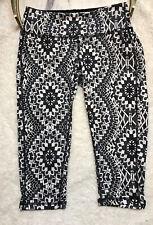 PrAna Women's Athletic Pants Size XS Maison Knicker Black Gardenia NWT Yoga