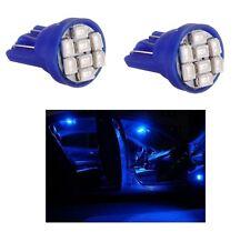2 LUCI DI POSIZIONE LED BLU XENON T10 8 SMD lampadina auto 6000K 12V W5W car