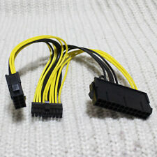 ATX 24Pin + CPU 8Pin to Mini 18Pin Power Supply Cable For Dell C6100 Server New