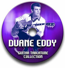 DUANE EDDY ROCK'N'ROLL GUITARE ROCK TABLATURE LIVRE MUSICAL CD DU LOGICIEL